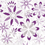 Seamless floral graphic pattern Royalty Free Stock Image