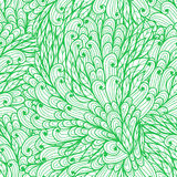 Seamless floral green pattern Royalty Free Stock Image