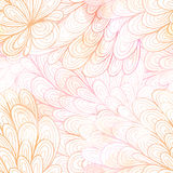 Seamless floral grunge pastel pink gradient pattern Royalty Free Stock Photo