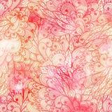 Seamless floral grunge pattern Royalty Free Stock Photo