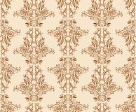 Seamless floral hand draw pattern background Stock Photography