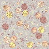 Seamless floral light background Stock Image