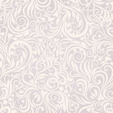 Seamless floral lightgrey background Royalty Free Stock Image