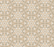 Seamless floral mosaic pattern Royalty Free Stock Photo