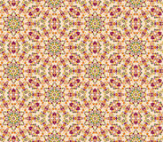 Seamless floral mosaic pattern Royalty Free Stock Photography