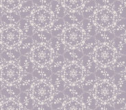 Seamless floral mosaic pattern Stock Photography