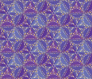 Seamless floral mosaic pattern Royalty Free Stock Images