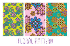 Seamless floral orient pattern Royalty Free Stock Photography