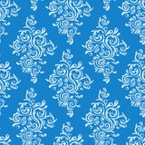 Seamless floral ornament. A seamless vintage floral ornament Stock Images