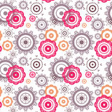 Seamless floral ornament Royalty Free Stock Images