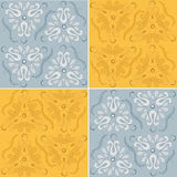 Seamless Floral Ornament royalty free stock image