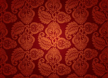 Seamless floral ornament for background. Stock Image