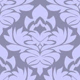 Seamless floral Ornament in blue Colors Royalty Free Stock Photo