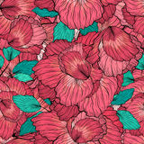 Seamless Floral Ornament Pattern Stock Photography