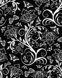 Seamless floral ornate Stock Photo