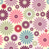 Seamless floral pastel pattern Royalty Free Stock Images