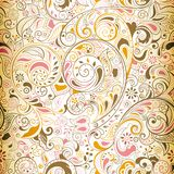 Seamless Floral Pattern 1 Stock Photography