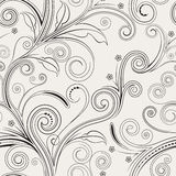Seamless Floral Pattern. Seamless both side floral pattern. vector illustration