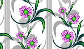 Free Seamless Floral Pattern Stock Image - 10778761