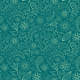 Seamless Floral Pattern. Or Wallpaper Royalty Free Illustration