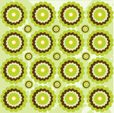 Seamless floral pattern. Illustration background Royalty Free Stock Photo