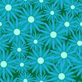 Seamless floral pattern. Seamless background with art flowers Royalty Free Stock Image