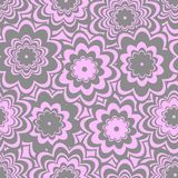 Seamless floral pattern. Seamless background with art flowers Royalty Free Stock Photos