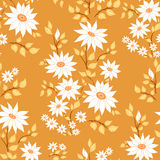 Seamless floral pattern. Autumn paints Stock Images