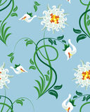 Seamless floral pattern royalty free stock images