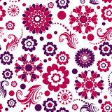 Seamless floral pattern () Royalty Free Stock Image