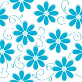 Seamless floral pattern Stock Images