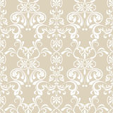 Seamless floral pattern. Illustration Royalty Free Stock Image