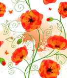 Seamless floral pattern. Vector illustration of Seamless floral pattern Royalty Free Stock Photo