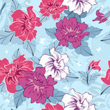 Seamless floral pattern royalty free stock image