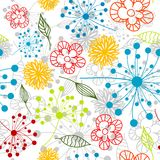 Seamless floral pattern,  Royalty Free Stock Image