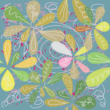 Seamless floral pattern. Colorful background Stock Photography