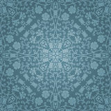 Seamless floral pattern. Vector illustration Royalty Free Stock Photography