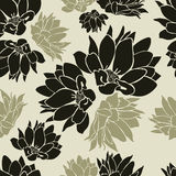 Seamless floral pattern. (From my big Seamless collection Royalty Free Stock Photos