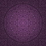 Seamless floral pattern. Retro background. Vector illustration Royalty Free Stock Image
