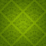 Seamless floral pattern. Retro background. Vector illustration Royalty Free Stock Photography