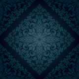 Seamless floral pattern. Retro background. Vector illustration Stock Photos