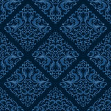 Seamless floral pattern. Retro background. Vector illustration Stock Photo
