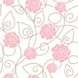 Seamless floral pattern Stock Photos