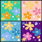 Seamless Floral Pattern. Beautiful seamless floral pattern. vector format available Royalty Free Stock Photo
