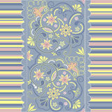 Seamless floral pattern. For design, vector Illustration royalty free illustration
