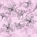 Seamless floral pattern. Royalty Free Stock Photography
