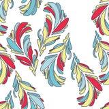 Seamless floral pattern. Art flower background. Seamless floral pattern Stock Images