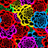 Seamless floral pattern 3 Royalty Free Stock Photo