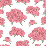Seamless with floral pattern Stock Photo