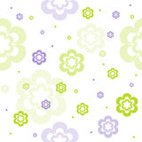 Seamless floral pattern. Cute seamless floral vector pattern Stock Image